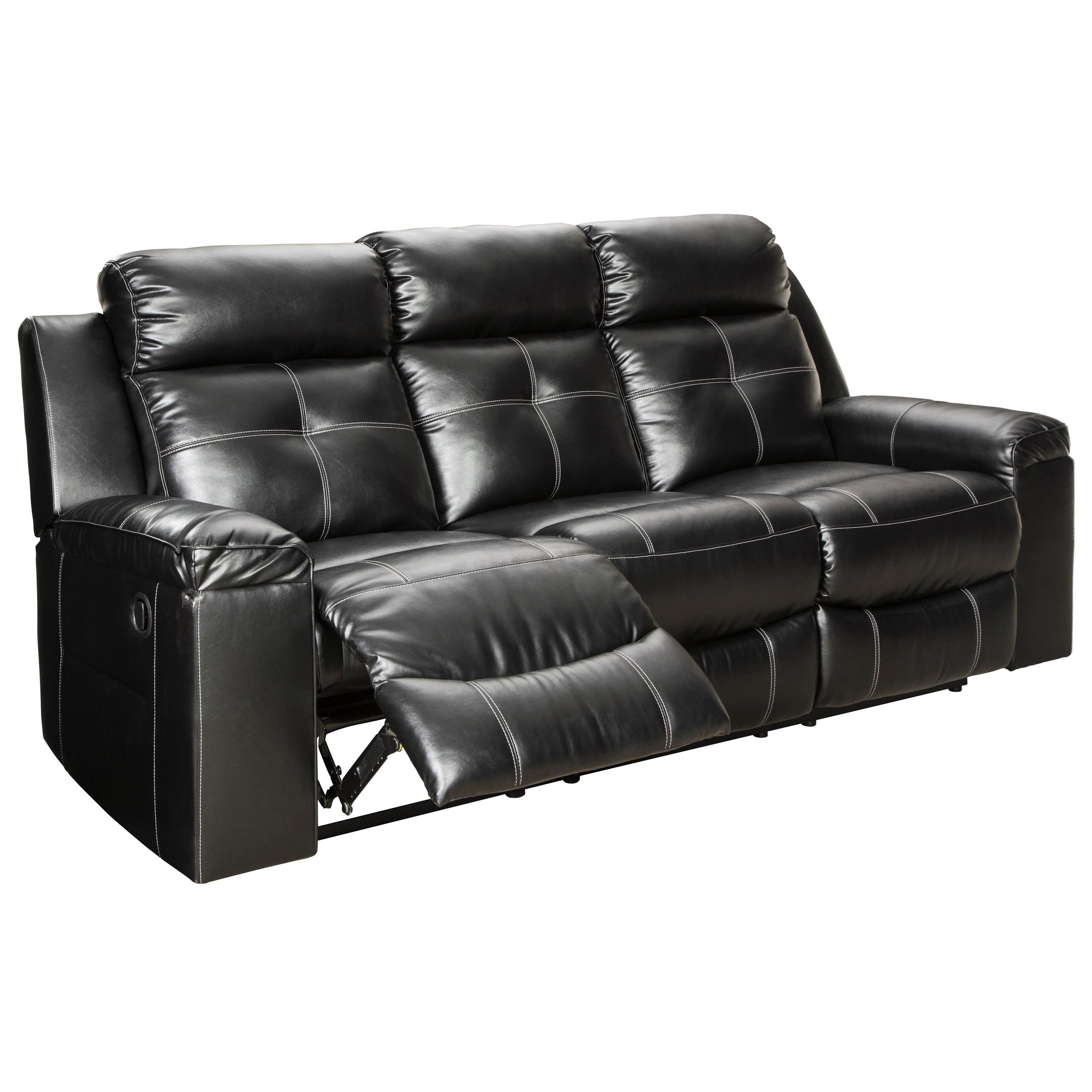 Kempten Reclining Sofa by Ashley (Signature Design) at Johnny Janosik