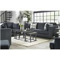 Signature Design by Ashley Kennewick Sofa, Loveseat, Accent Chair and Ottoman Set - Item Number: 128319818