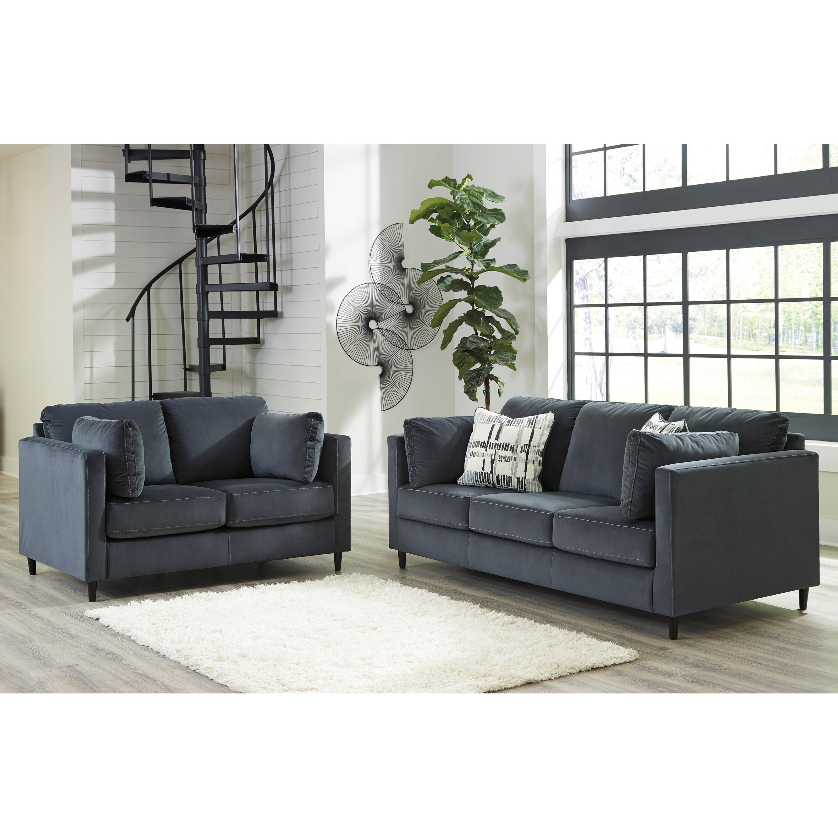 Kennewick Stationary Living Room Group by Ashley (Signature Design) at Johnny Janosik