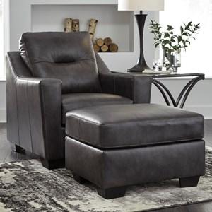 Ashley (Signature Design) Kensbridge Chair & Ottoman