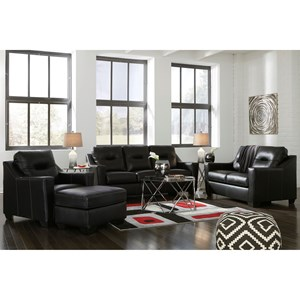 Signature Design by Ashley Kensbridge Stationary Living Room Group