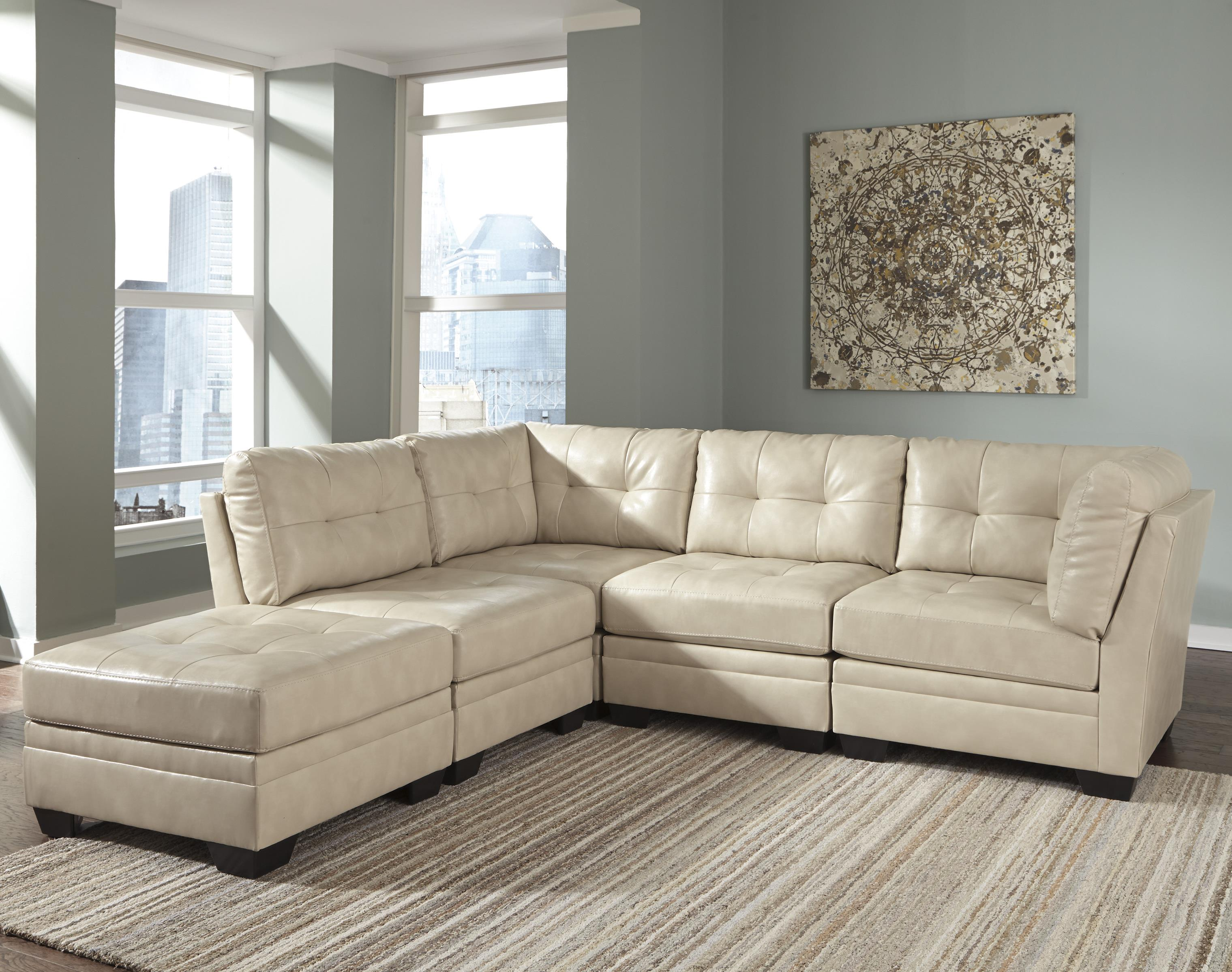 Signature Design by Ashley Khalil DuraBlend® 5-Piece Modular Sectional - Item Number: 6180408+2x46+2x51