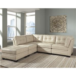 Signature Design by Ashley Khalil DuraBlend® 5-Piece Modular Sectional