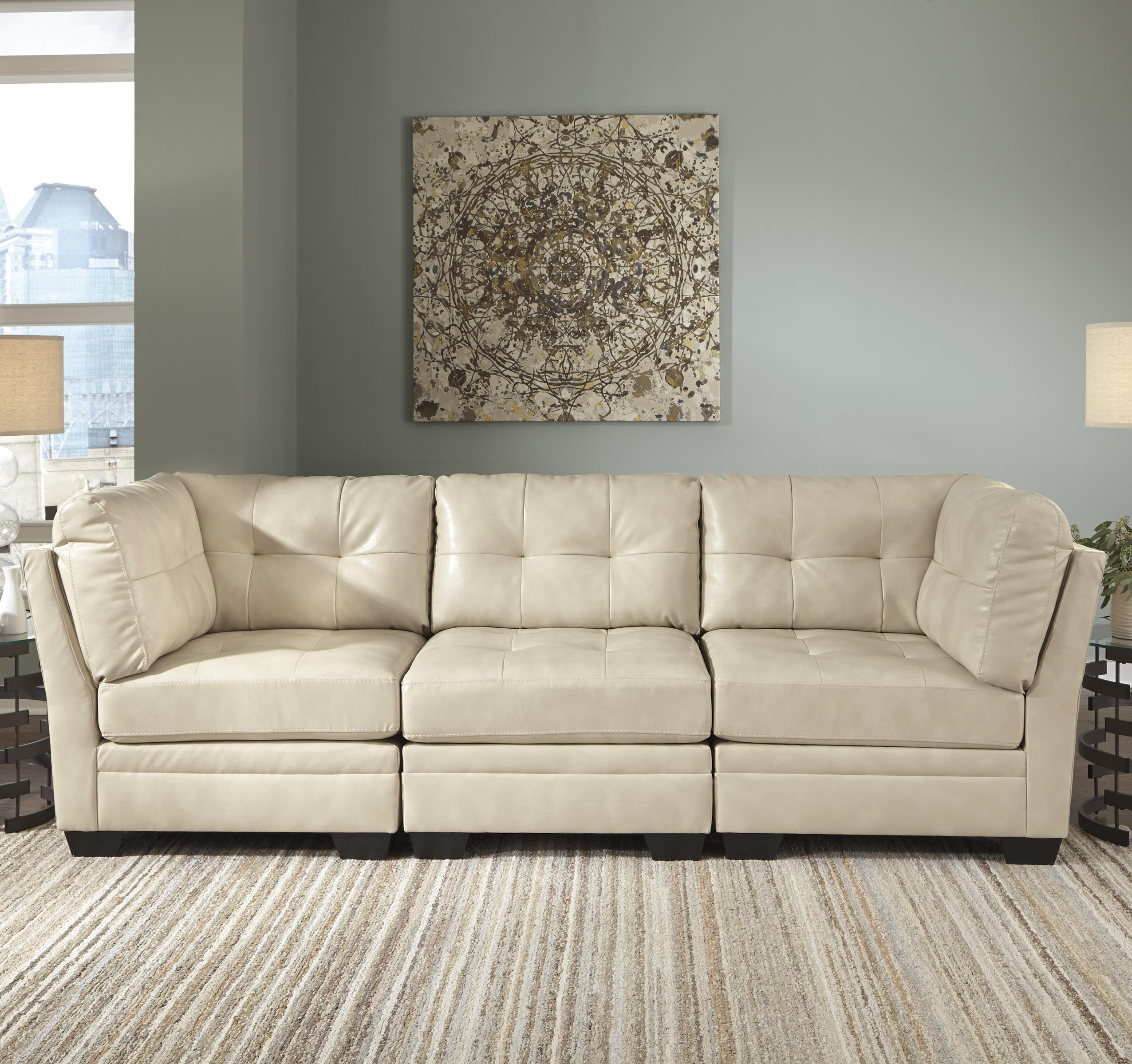 Signature Design by Ashley Khalil DuraBlend® Modular Sofa - Item Number: 6180446+2x51