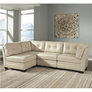 Signature Design by Ashley Khalil DuraBlend® 4-Piece Modular Sectional