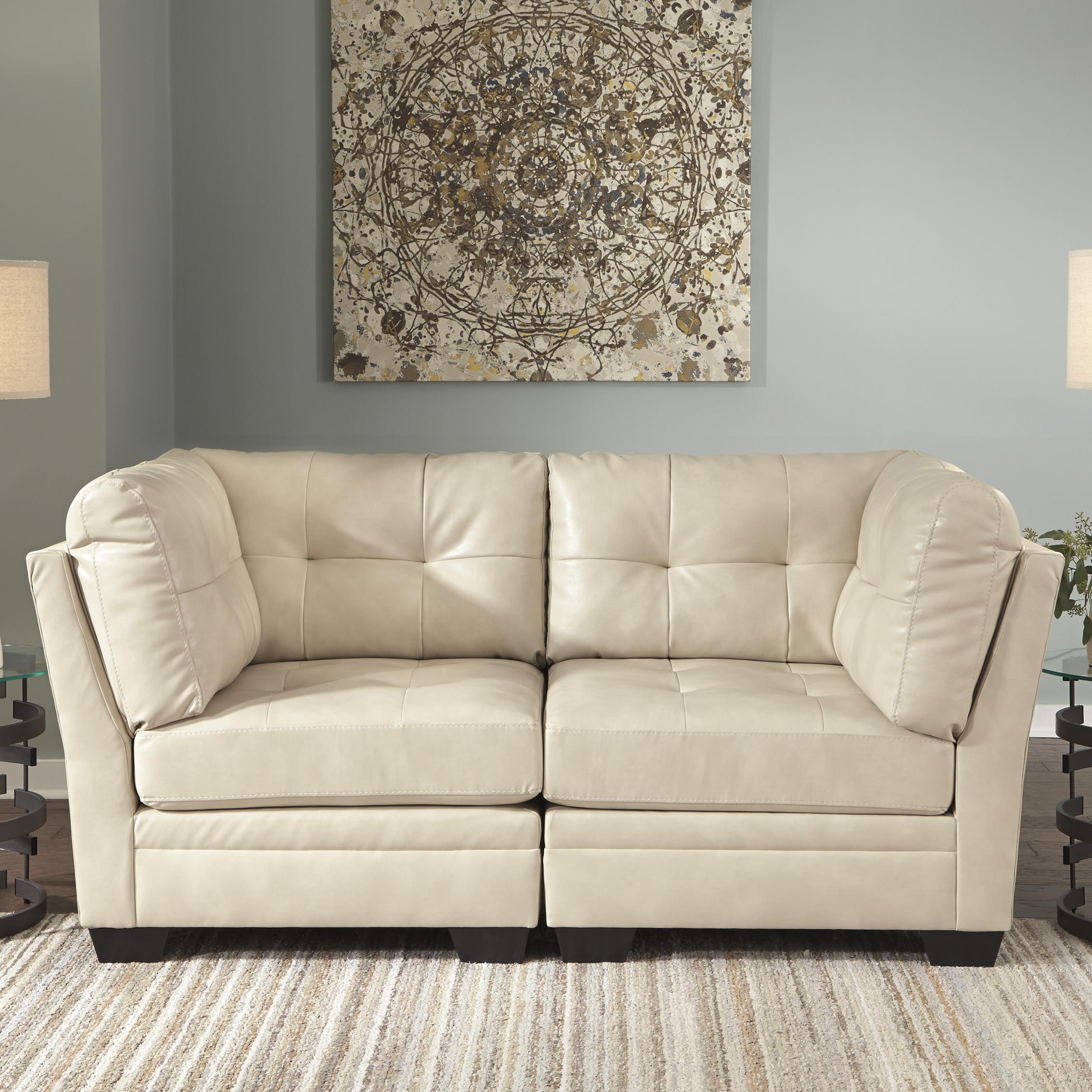 Signature Design by Ashley Khalil DuraBlend® Modular Loveseat - Item Number: 6180451x2