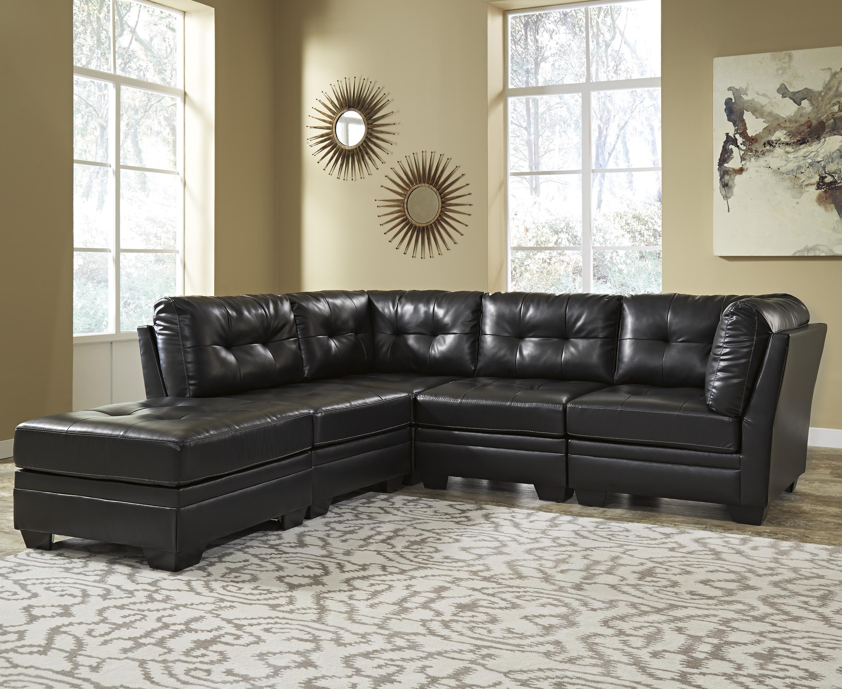 Signature Design by Ashley Khalil DuraBlend® 5-Piece Modular Sectional - Item Number: 6180508+2x46+2x51