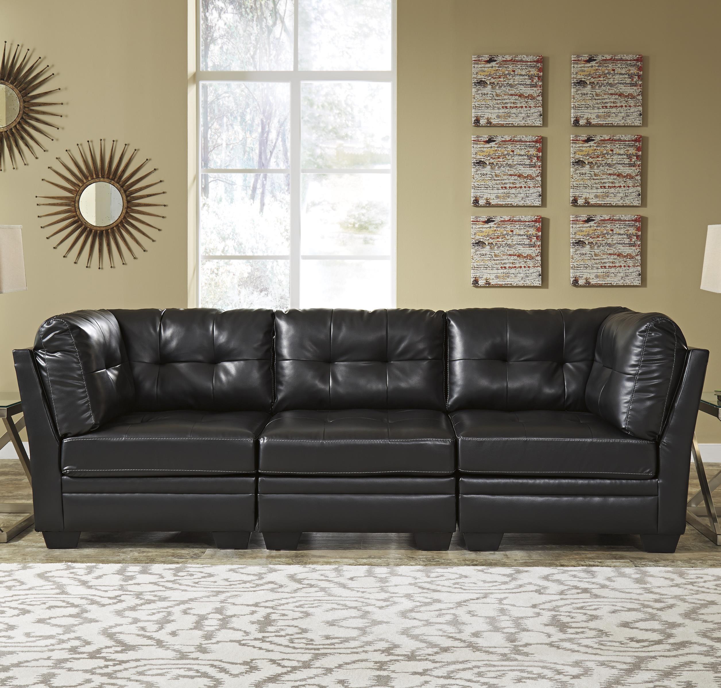 Signature Design by Ashley Khalil DuraBlend® Modular Sofa - Item Number: 6180546+2x51