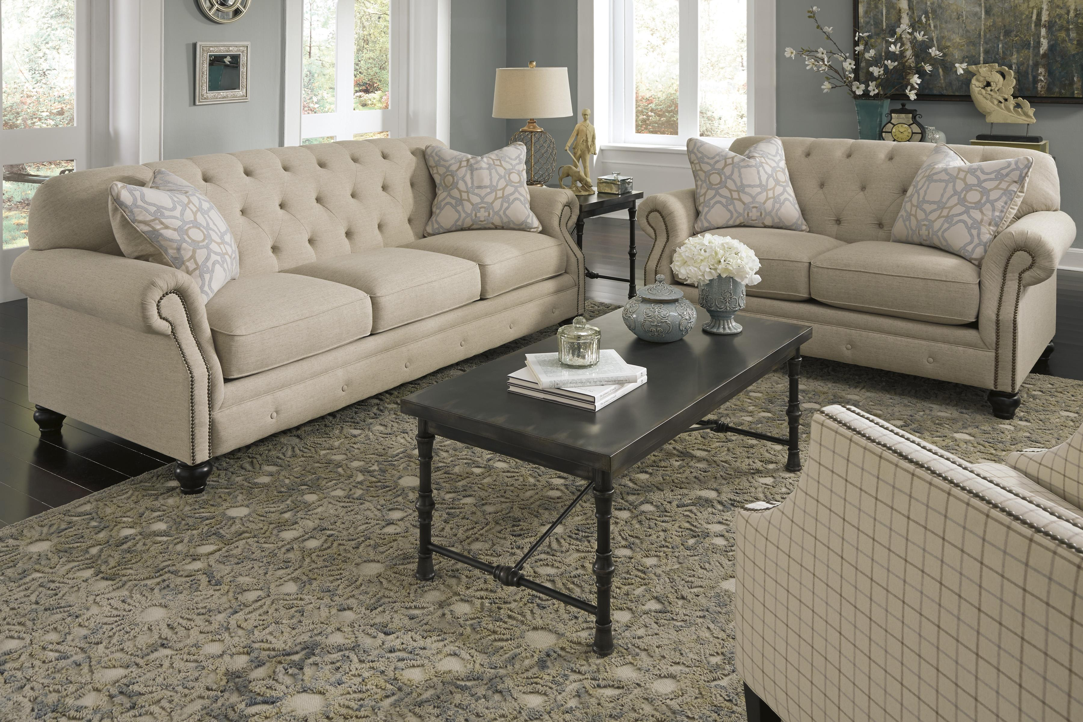 Signature Design by Ashley Kieran Stationary Living Room Group - Item Number: 44000 Living Room Group 3