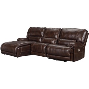 Signature Design by Ashley Killamey 3-Piece Power Reclining Sectional