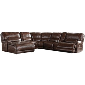 Signature Design by Ashley Killamey 6-Piece Power Reclining Sectional