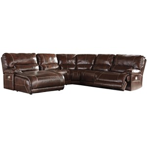 Signature Design by Ashley Killamey 5-Piece Power Reclining Sectional