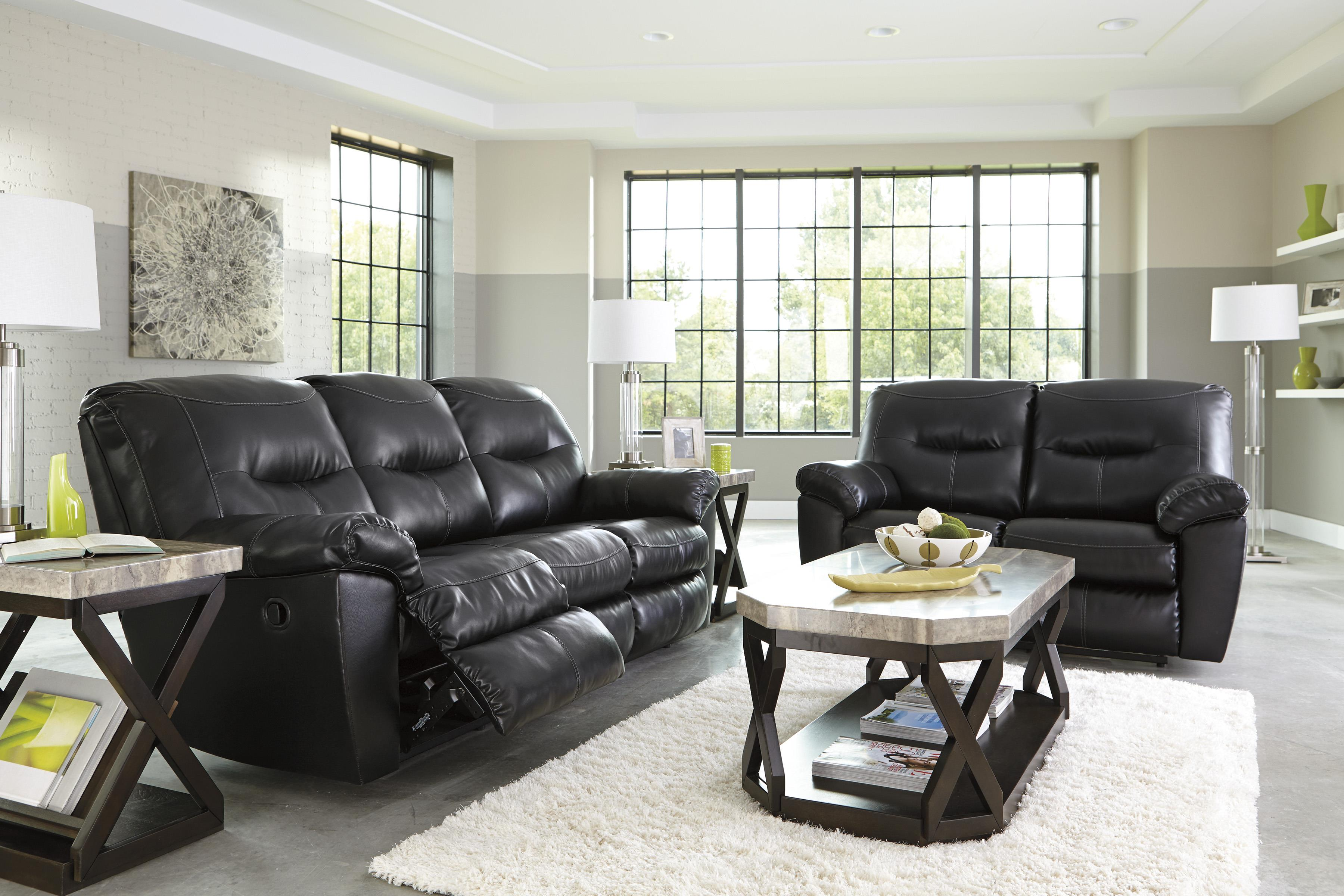 Signature Design by Ashley Kilzer DuraBlend® Reclining Living Room Group - Item Number: 84701 Living Room Group 1
