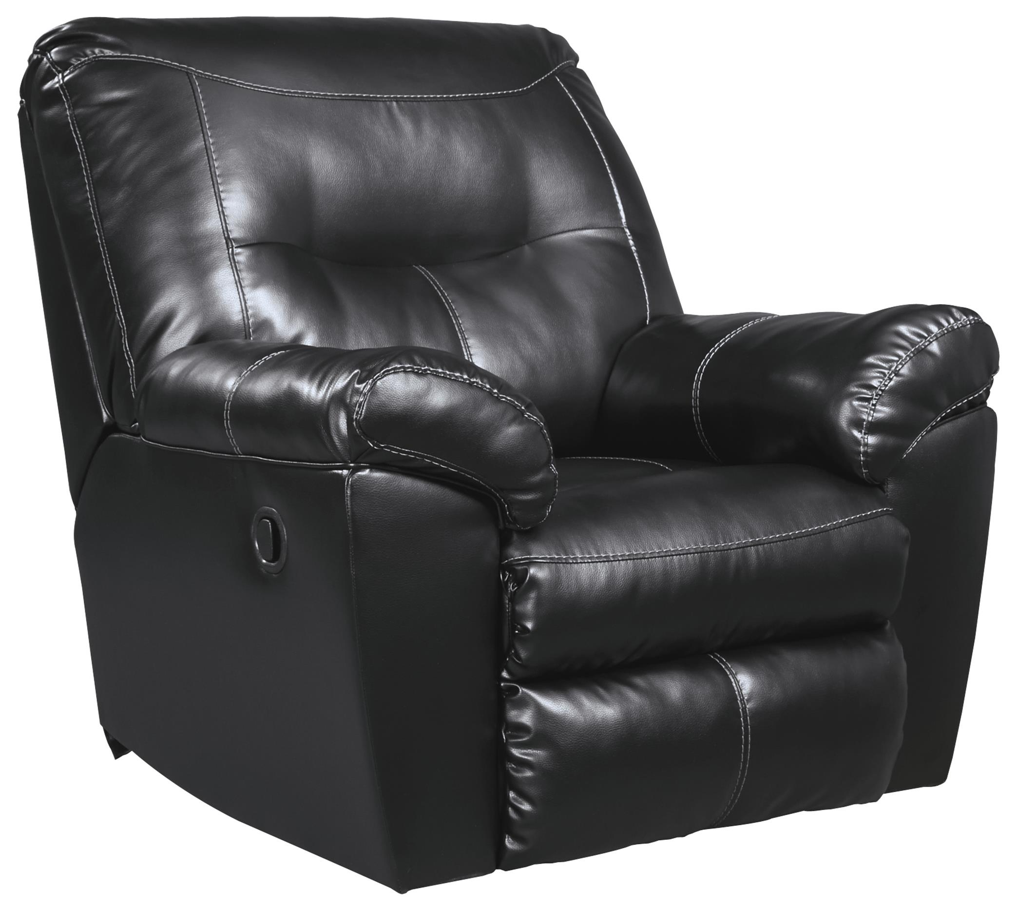 Signature Design by Ashley Kilzer DuraBlend® Rocker Recliner - Item Number: 8470125