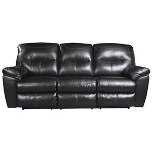 Ashley Signature Design Kilzer DuraBlend® Reclining Sofa