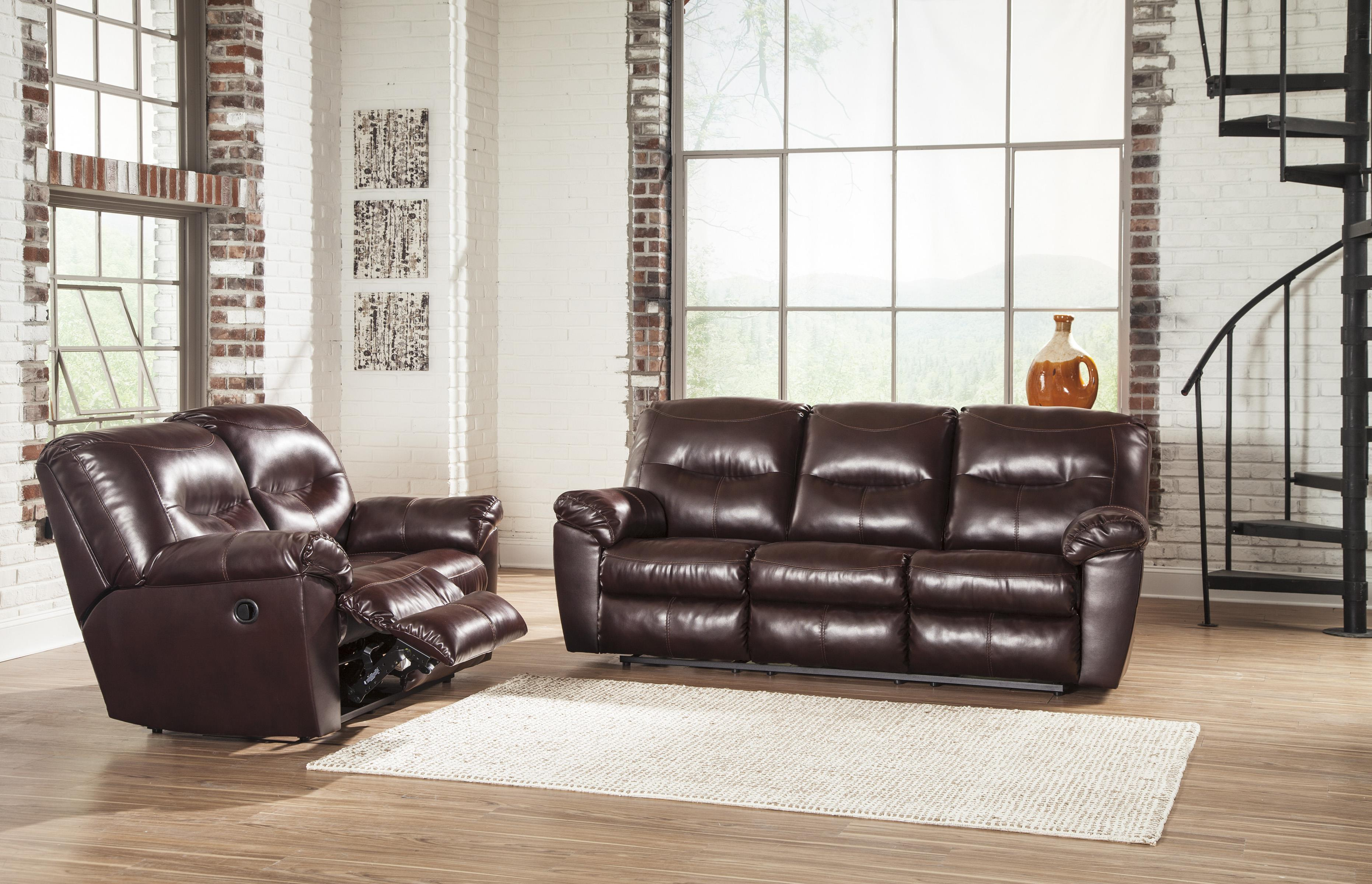 Signature Design by Ashley Kilzer DuraBlend® Reclining Living Room Group - Item Number: 84702 Living Room Group 1