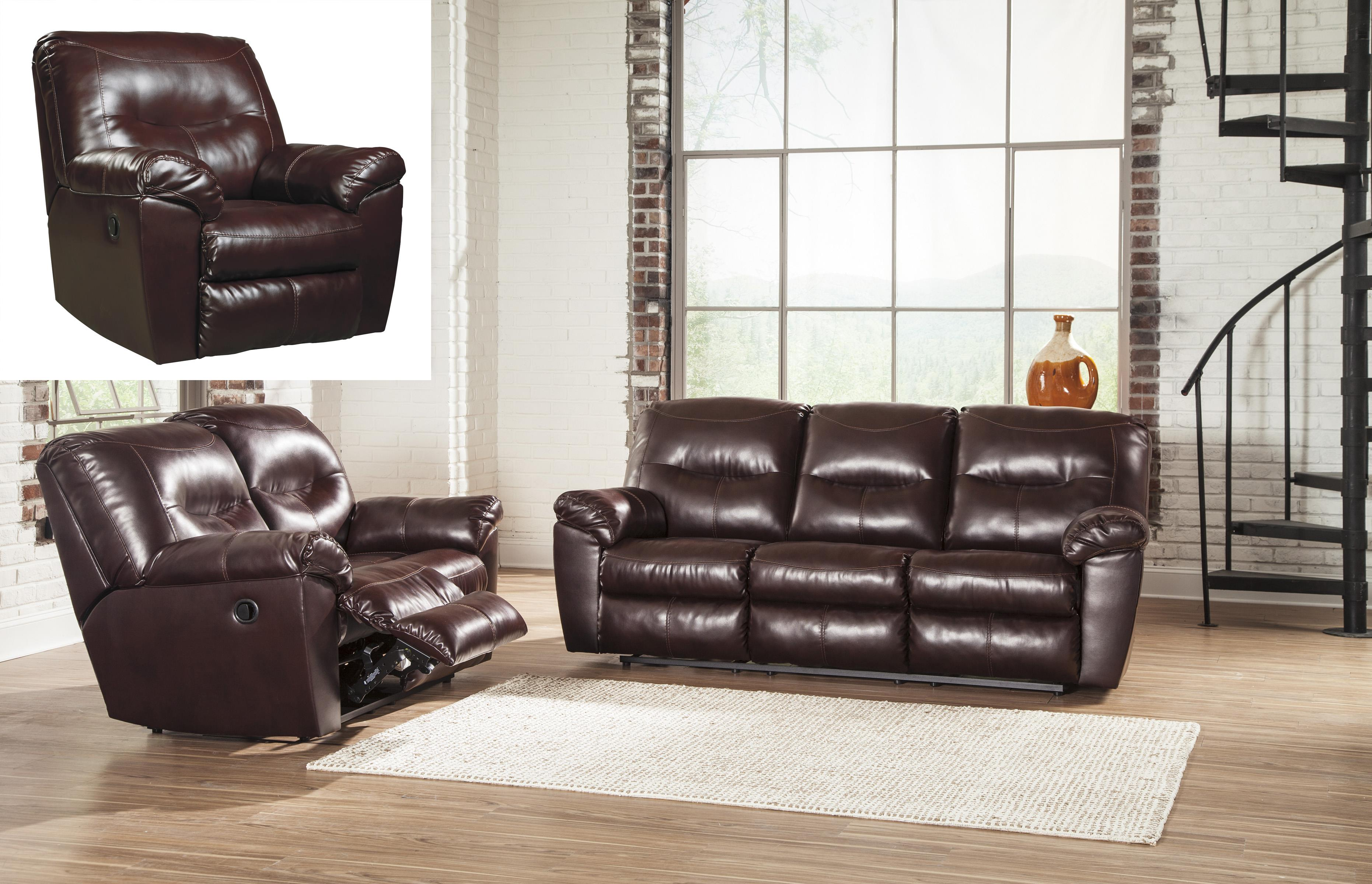 Signature Design by Ashley Kilzer DuraBlend® Reclining Living Room Group - Item Number: 84702 Living Room Group 2