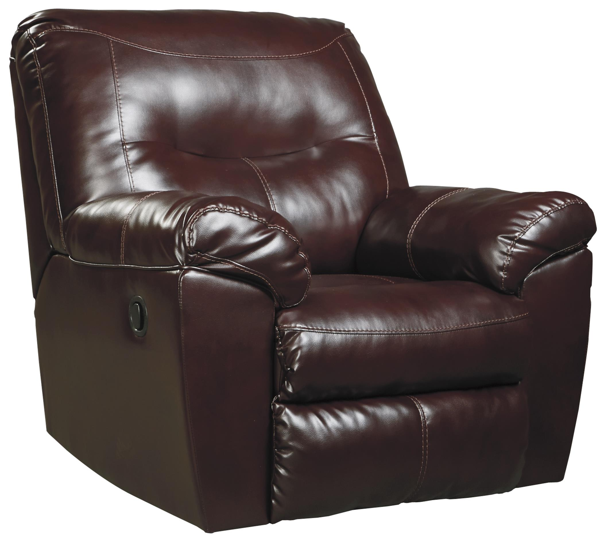Signature Design by Ashley Kilzer DuraBlend® Rocker Recliner - Item Number: 8470225