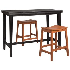 Signature Design by Ashley Kimonte 3-Piece Counter Table Set