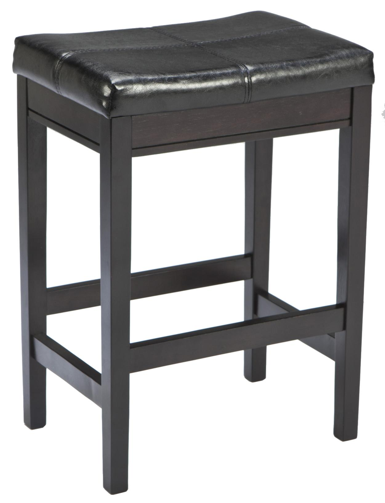 Signature Design by Ashley Kimonte Upholstered Barstool - Item Number: D250-224