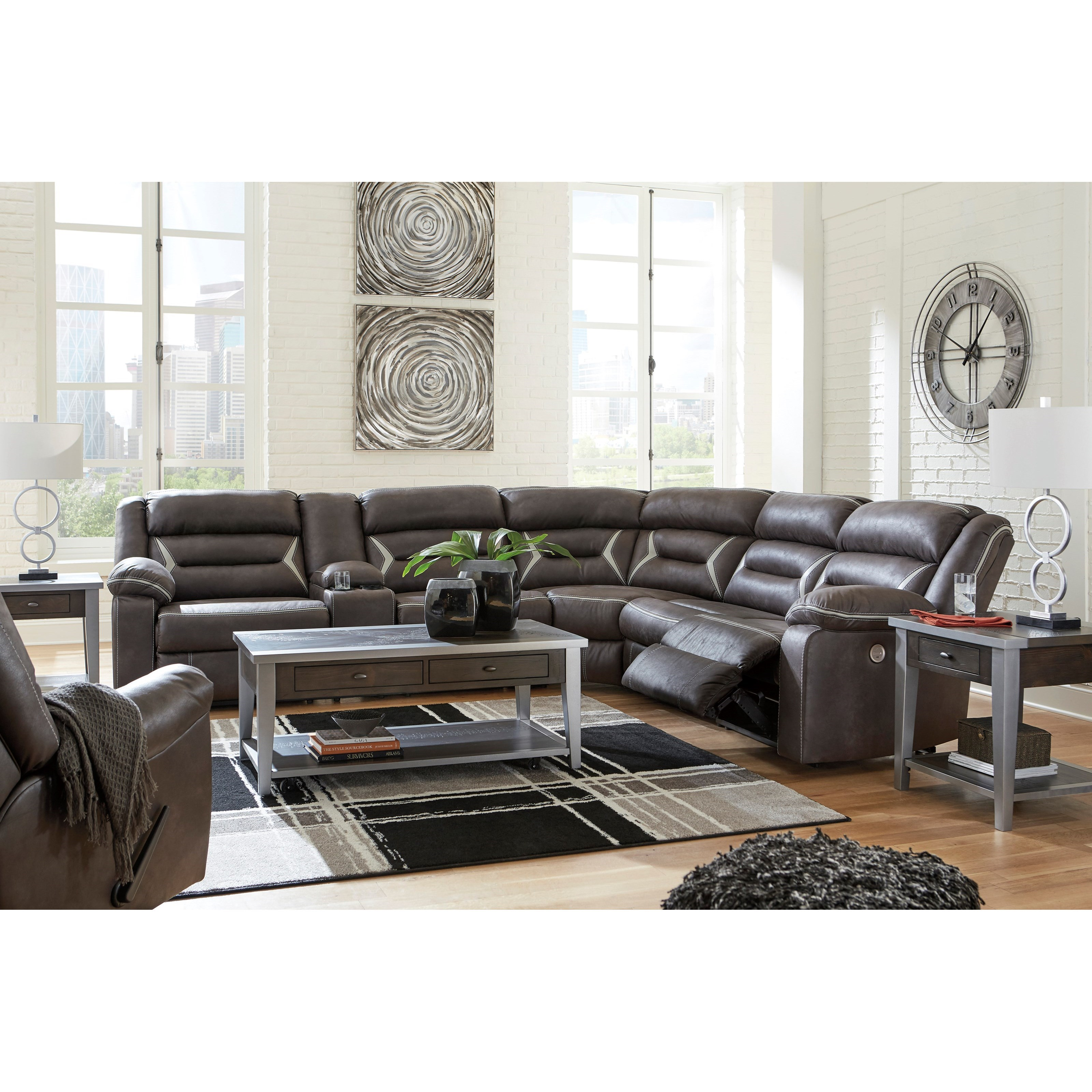 Kincord Power Reclining Living Room Group by Ashley (Signature Design) at Johnny Janosik