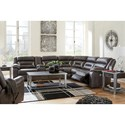 Signature Design by Ashley Kincord Power Reclining Living Room Group - Item Number: 13104 Living Room Group 1