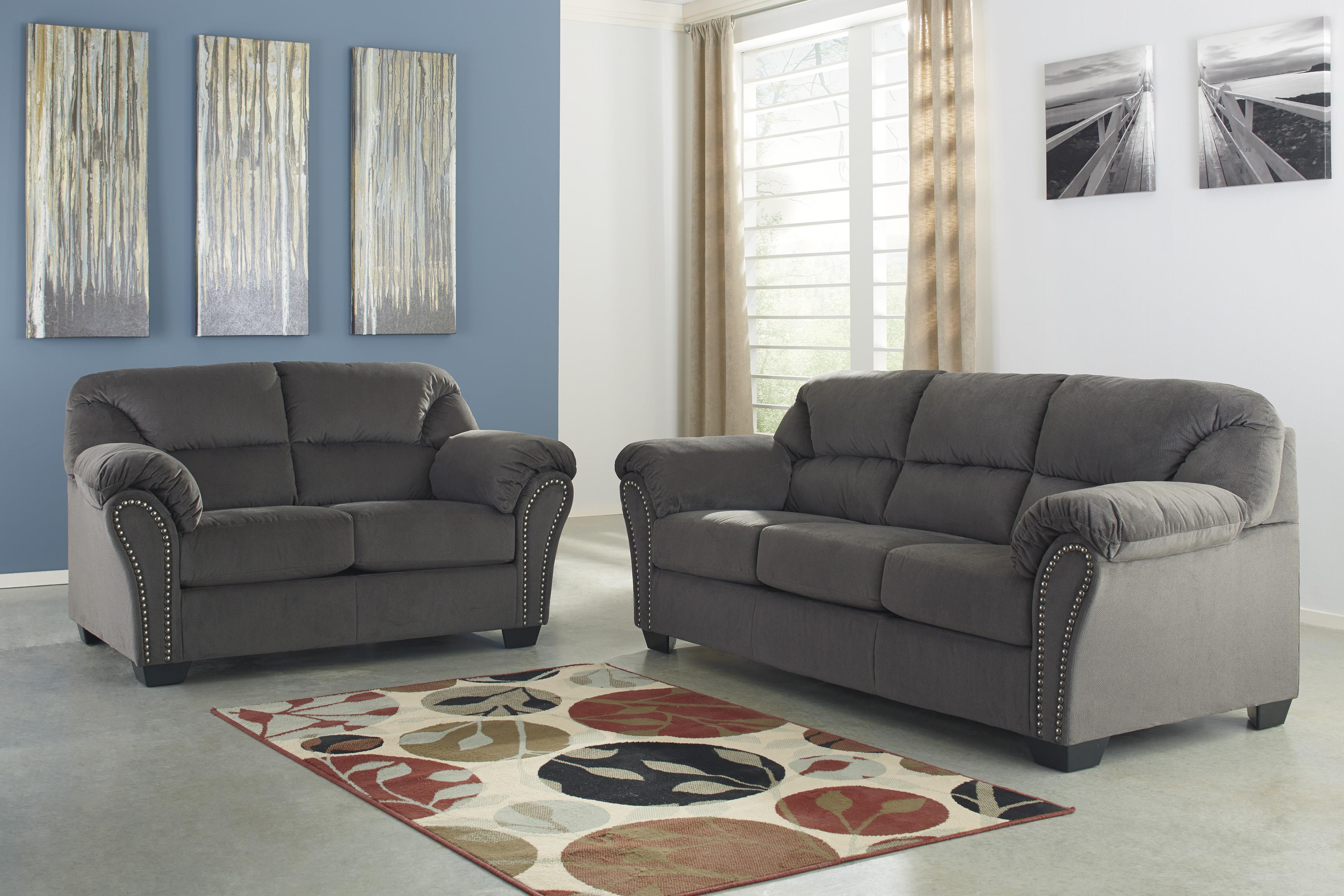 Signature Design by Ashley Kinlock Stationary Living Room Group - Item Number: 33400 Living Room Group 2