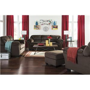 Signature Design by Ashley Kinlock Stationary Living Room Group