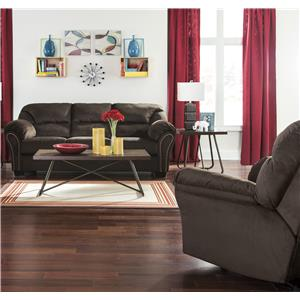 Signature Design by Ashley Kinlock Sofa with Matching Recliner