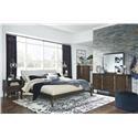 Signature Design by Ashley Kisper Queen Platform Bed Package - Item Number: 584351301