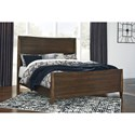 Signature Design by Ashley Kisper California King Panel Bed - Item Number: B513-58+94+56