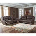 Signature Design by Ashley Kitching Power Reclining Living Room Group - Item Number: 41604 Living Room Group 1
