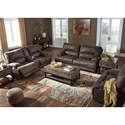 Signature Design by Ashley Kitching Power Reclining Living Room Group