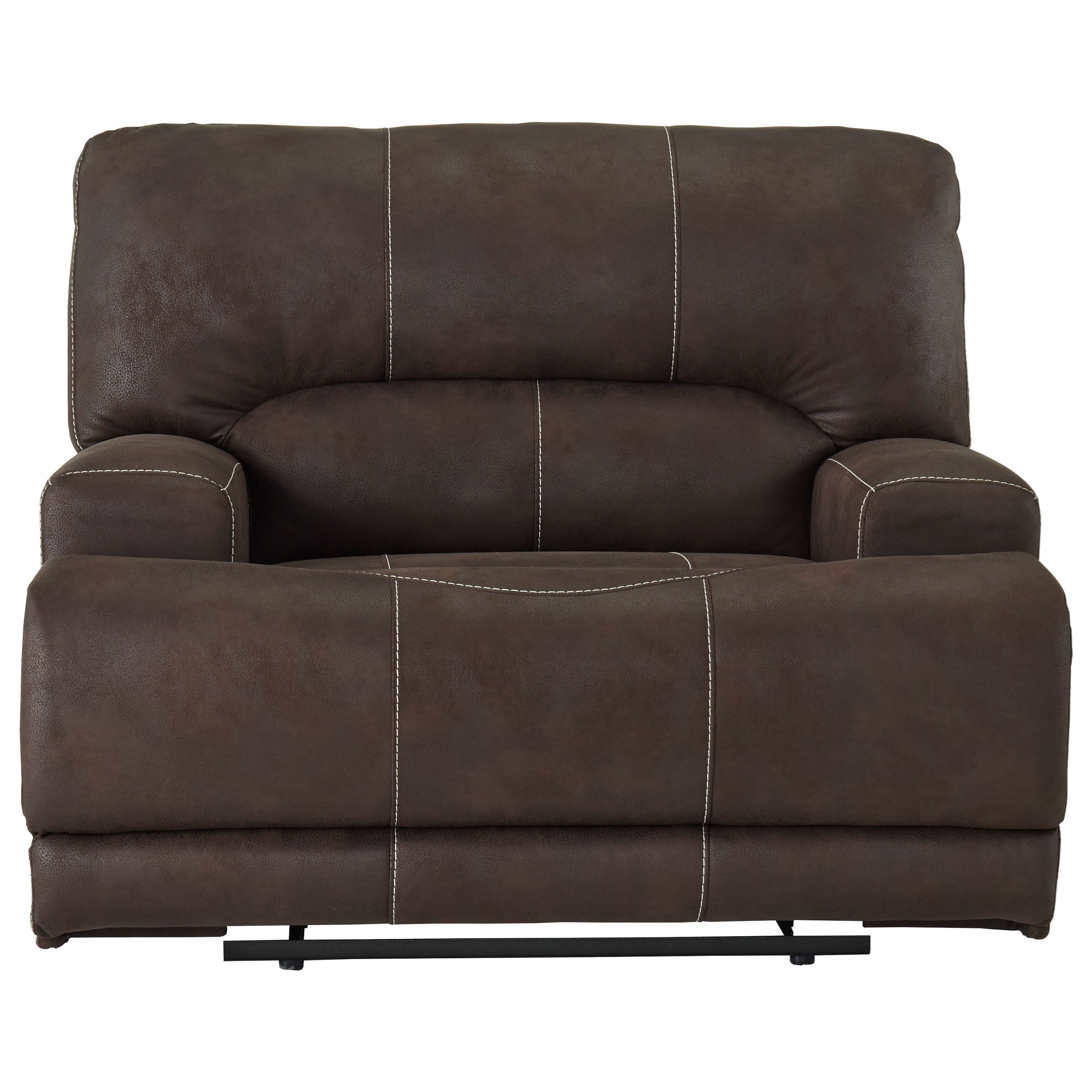 Kitching Wide Seat Power Recliner by Signature Design by Ashley at Home Furnishings Direct