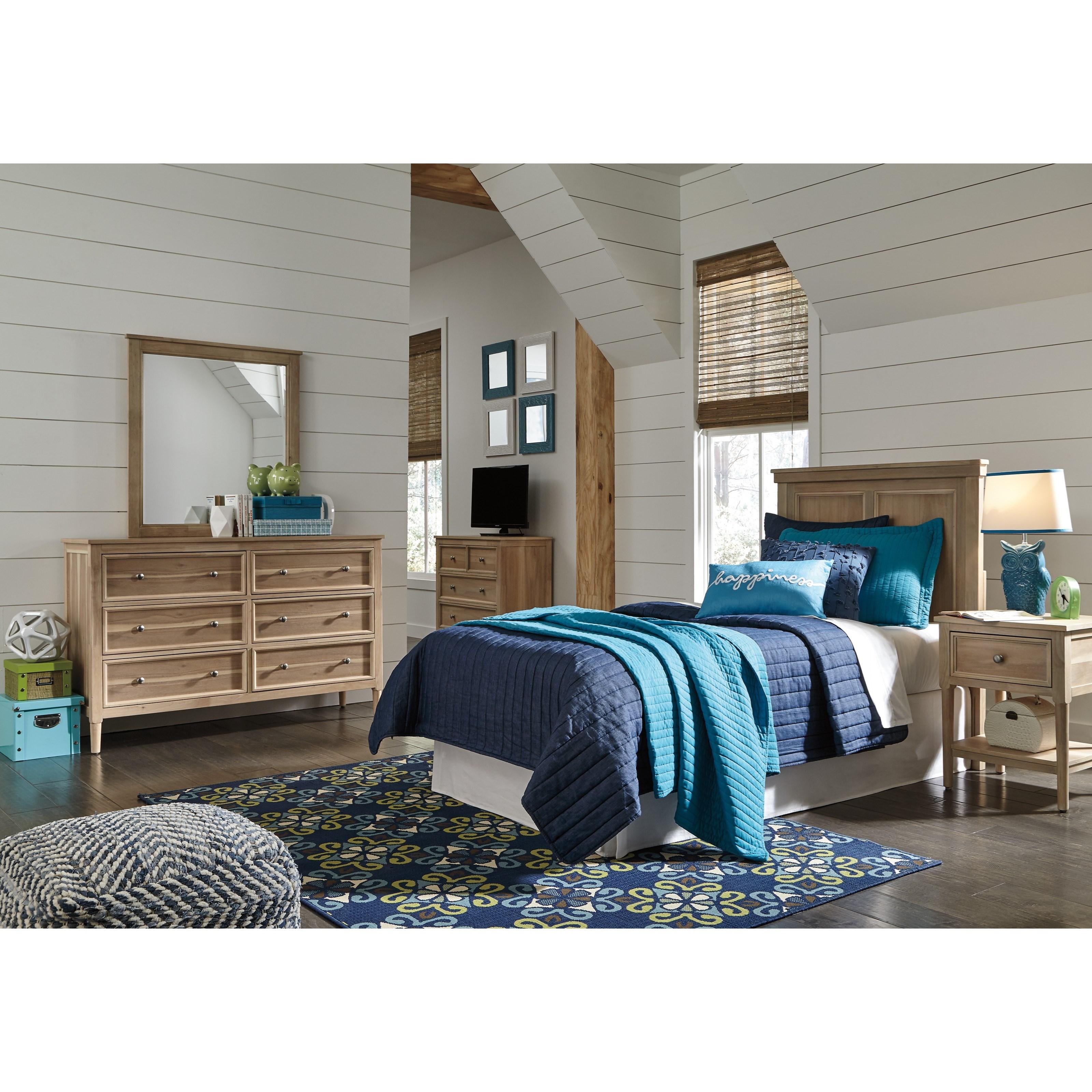 Signature Design by Ashley Klasholm Twin Bedroom Group - Item Number: B512 T Bedroom Group 3
