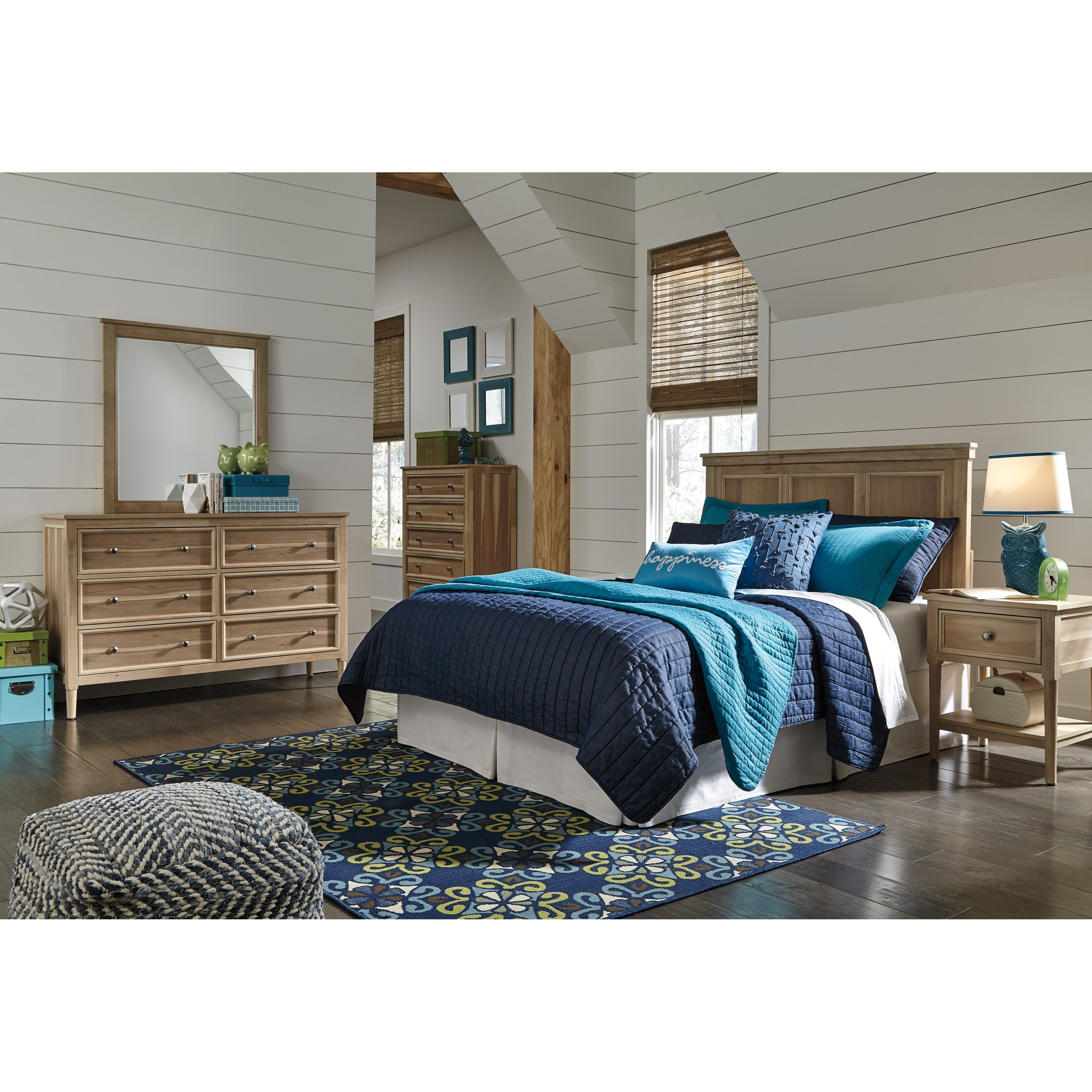 Signature Design by Ashley Klasholm Queen Bedroom Group - Item Number: B512 Q Bedroom Group 4