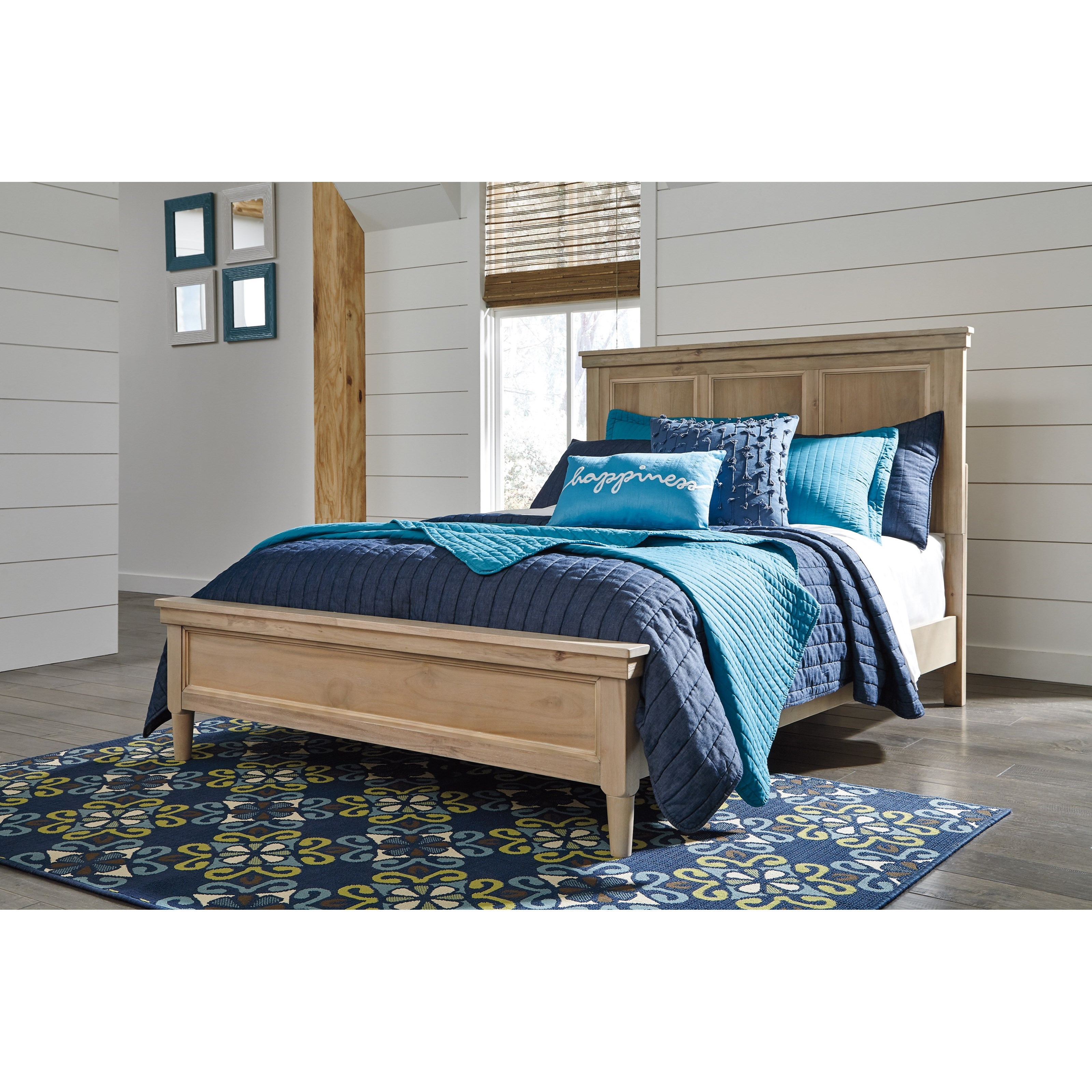 Signature Design By Ashley Klasholm Contemporary Full Bed With Low Profile Footboard John V