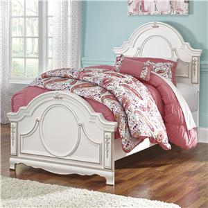 Signature Design by Ashley Korabella Twin Panel Bed