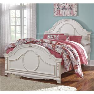 Signature Design by Ashley Korabella Full Panel Bed