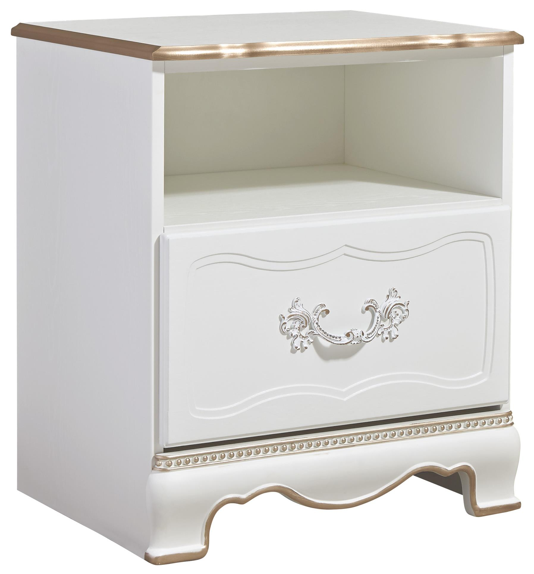 Signature Design by Ashley Korabella One Drawer Night Stand - Item Number: B355-91