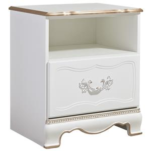 Signature Design by Ashley Korabella One Drawer Night Stand