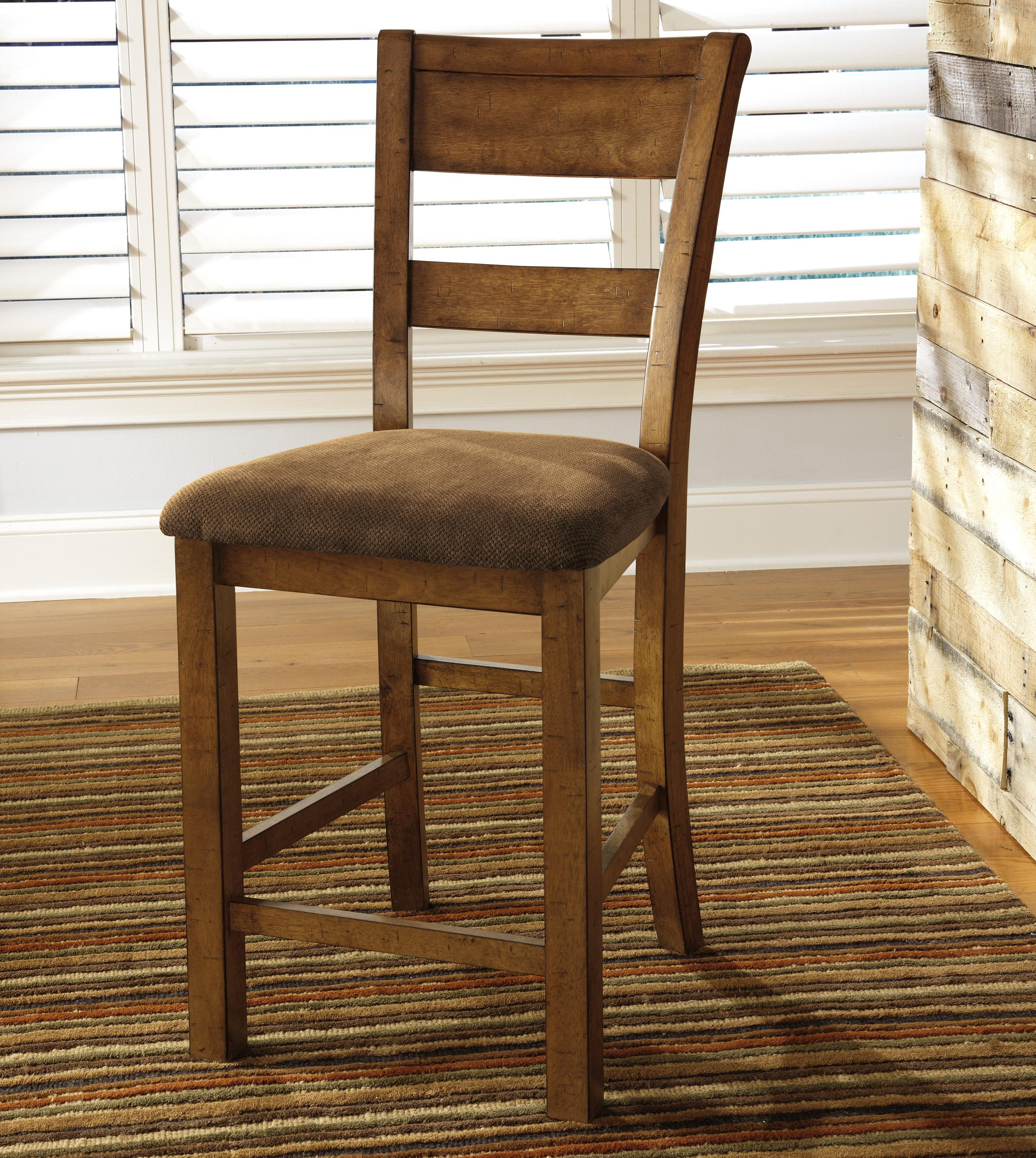 Signature Design by Ashley Krinden Upholstered Barstool - Item Number: D653-124