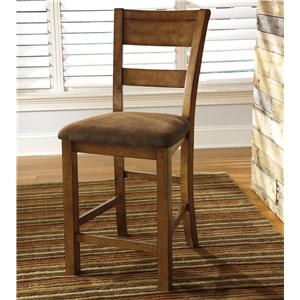 Ashley Signature Design Krinden Upholstered Barstool