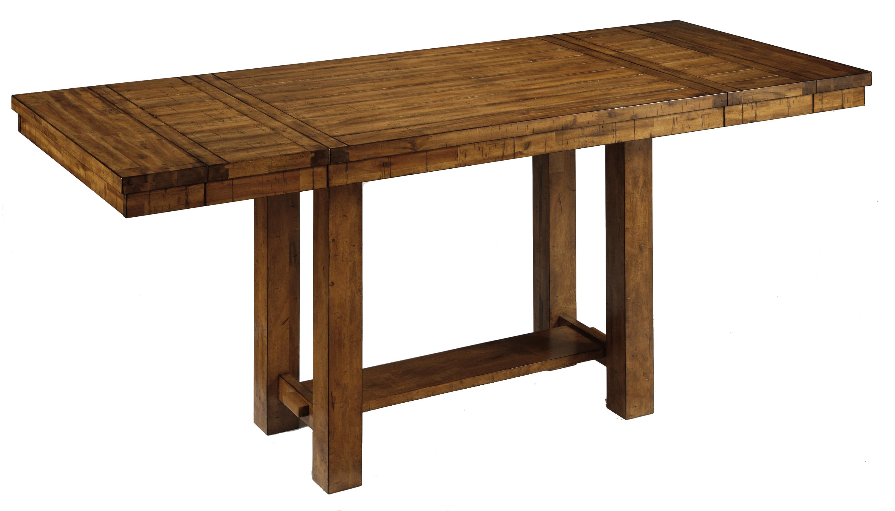 Signature Design by Ashley Krinden Rectangular Counter Extension Table - Item Number: D653-32