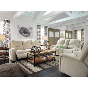 Signature Design by Ashley Krismen Reclining Living Room Group