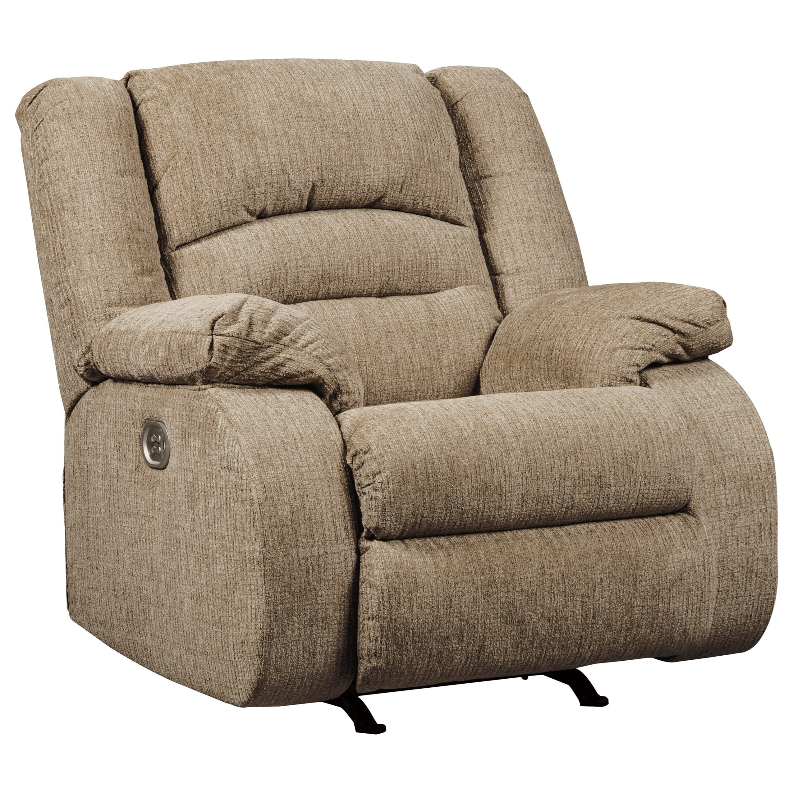 Signature Design by Ashley Labarre Power Recliner with Adjustable Headrest - Item Number: 8140313