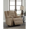 Signature Design by Ashley Labarre Power Recliner with Adjustable Headrest