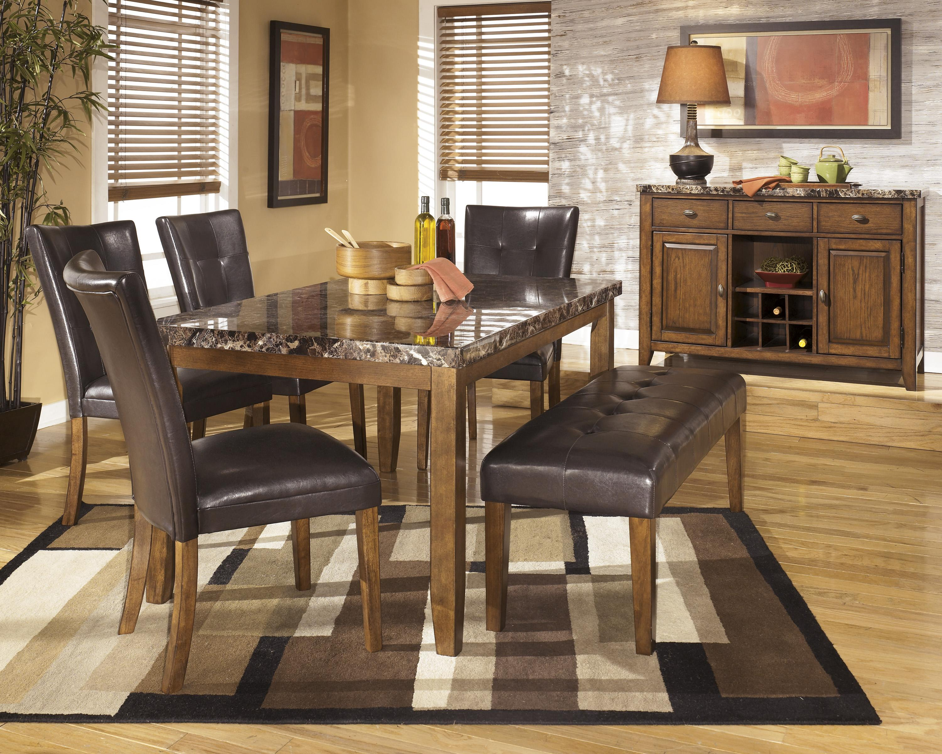 Signature design by ashley lacey casual dining room group for Casual dining room
