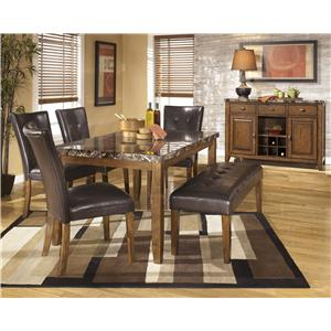 Ashley Signature Design Lacey Casual Dining Room Group