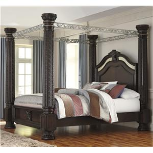 Signature Design by Ashley Laddenfield King Poster Bed